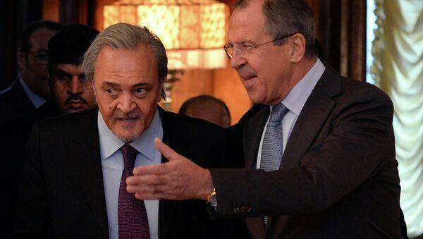 Lavrov ve Prens Suud El Faysal - Sputnik Türkiye