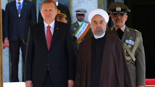 Recep Tayyip Erdoğan & Hasan Ruhani - Sputnik Türkiye