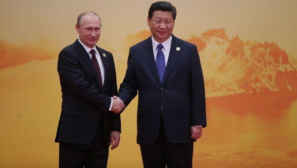 Putin ve Xi Jinping - Sputnik Türkiye