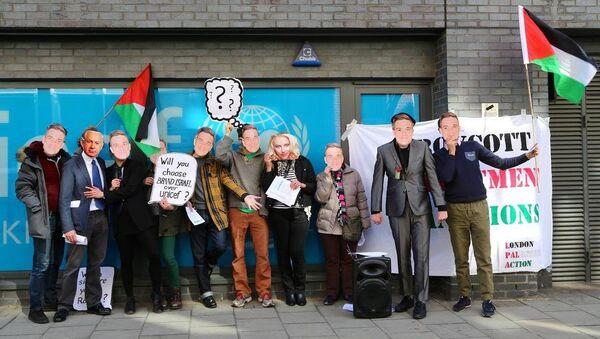 Robbie Williams'a İsrail protestosu - Sputnik Türkiye