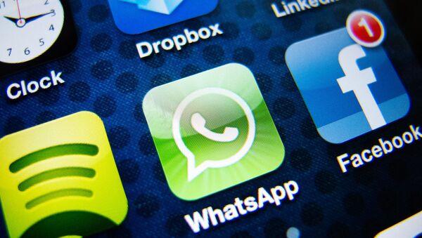 Facebook-WhatsApp - Sputnik Türkiye