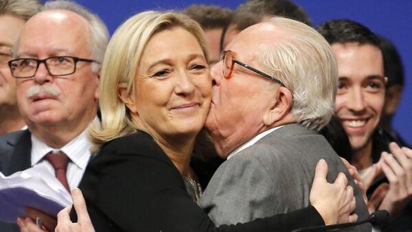 Marine Le Pen - Jean-Marie Le Pen - Sputnik Türkiye