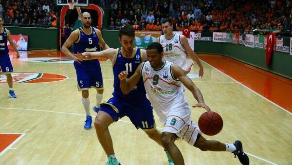 Khimki - Banvit basketbol takımları - Sputnik Türkiye