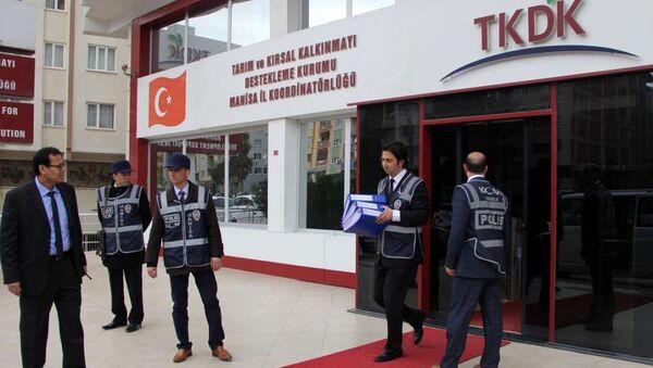 Manisa TKDK'da paralel yapı operasyonu - Sputnik Türkiye