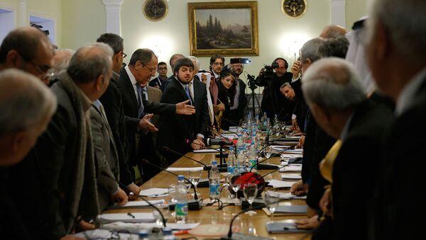 Moskova'daki Suriye görüşmeleri - Sputnik Türkiye