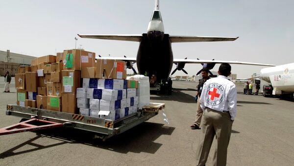Yemen için insani yardım - Sputnik Türkiye