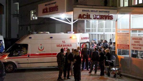 Bingöl polis saldırı - Sputnik Türkiye