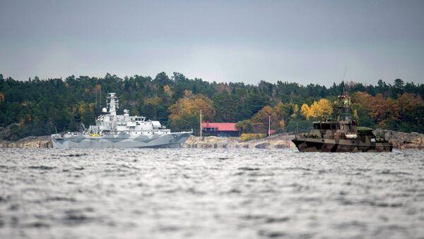 İsveç donanması - Sputnik Türkiye