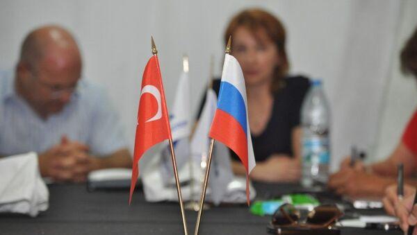 Türkiye-Rusya bayrakları - Sputnik Türkiye