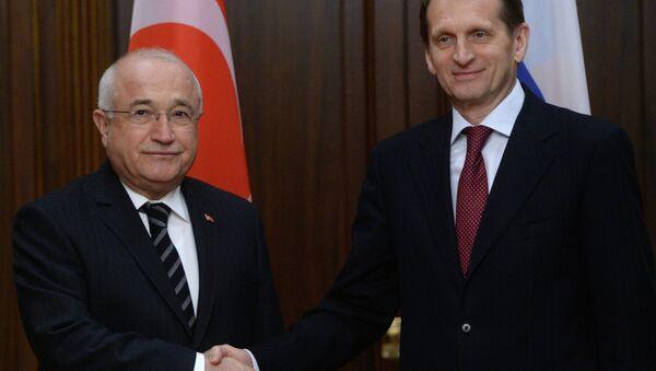 Sergey Narışkin & Cemil Çiçek - Sputnik Türkiye