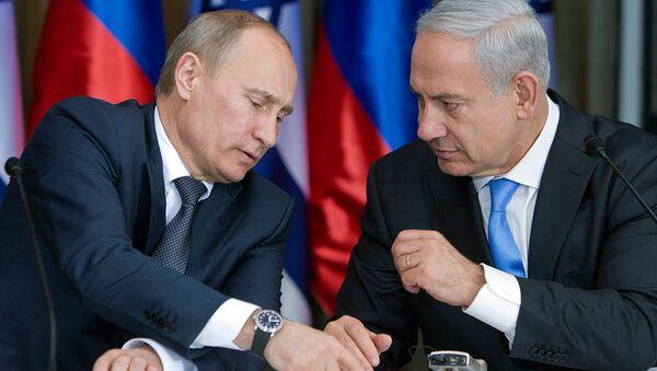 Vladimir Putin & Benyamin Netanyahu - Sputnik Türkiye