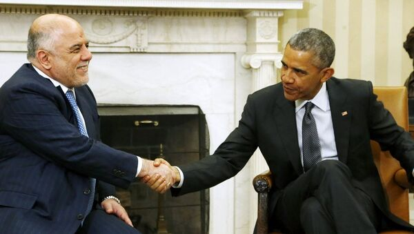 Haydar El İbadi - Barack Obama - Sputnik Türkiye