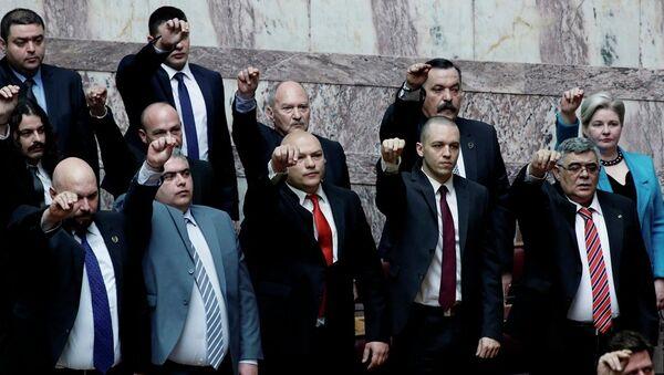 Yunanistan Altın Şafak Partisi üyeleri yargılanacak - Sputnik Türkiye