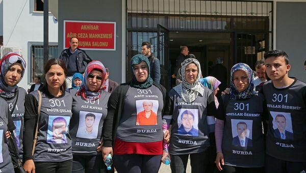 Soma'daki maden faciası davası - Sputnik Türkiye