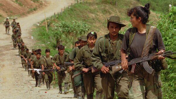 FARC militanları - Sputnik Türkiye