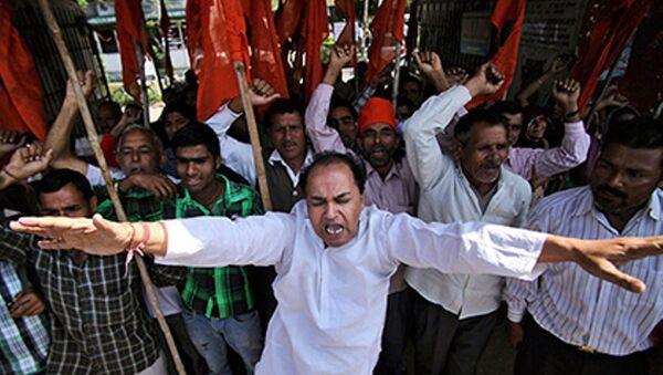 Hindistan'da aşırı sağcılar - Sputnik Türkiye