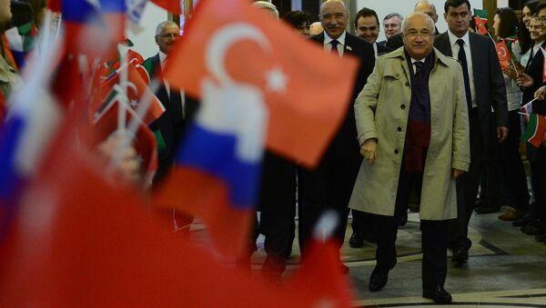 Cemil Çiçek, Kazan Federal Üniversitesi'nde - Sputnik Türkiye
