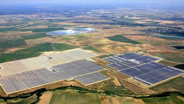 Güneş enerjisi santrali - Sputnik Türkiye