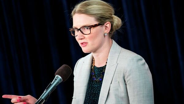 ABD Dışişleri Bakanlığı Sözcüsü Marie Harf - Sputnik Türkiye