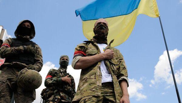 Ukrayna'daki aşırı milliyetçiler - Sputnik Türkiye