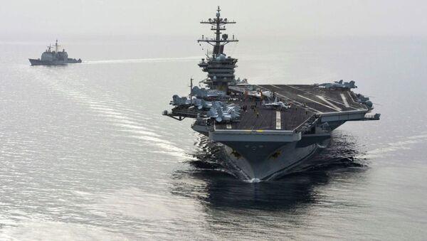 ABD savaş gemisi - Sputnik Türkiye