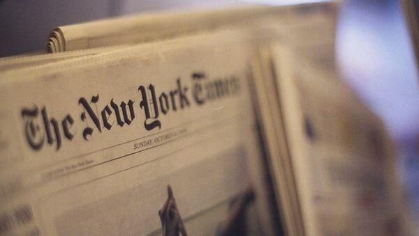 New York Times gazetesi - Sputnik Türkiye