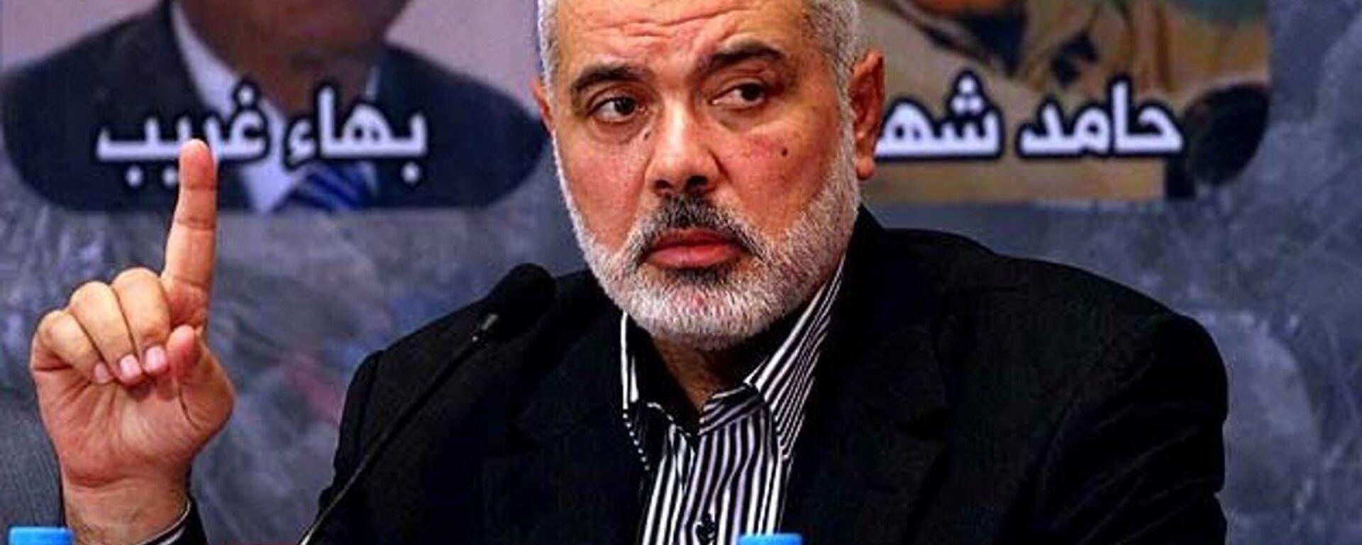 Hamas Siyasi Büro Başkan Yardımcısı İsmail Heniyye - Sputnik Türkiye, 1920, 18.04.2020