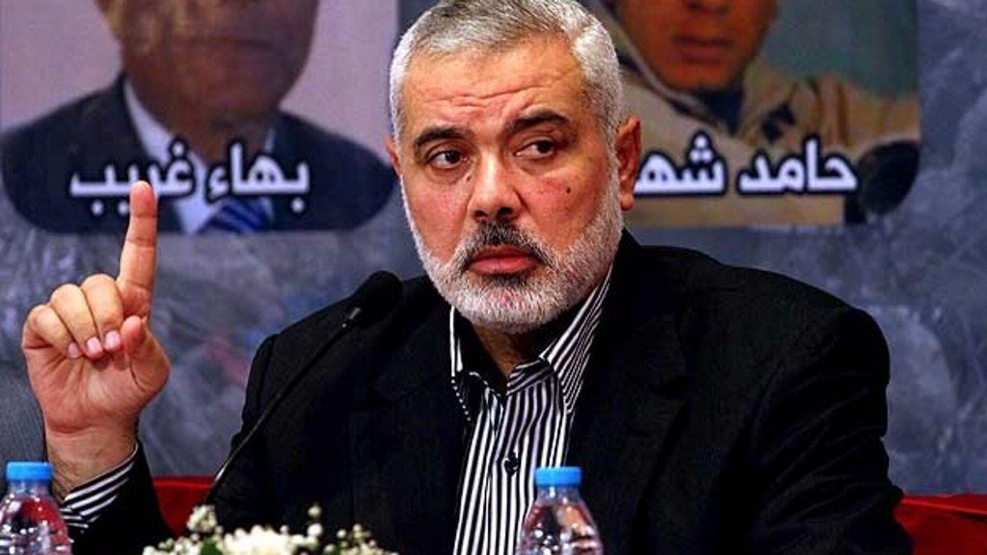Hamas Siyasi Büro Başkan Yardımcısı İsmail Heniyye - Sputnik Türkiye, 1920, 27.05.2021