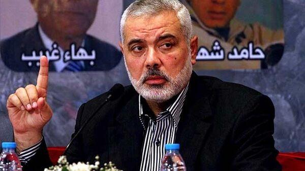 Hamas Siyasi Büro Başkan Yardımcısı İsmail Heniyye - Sputnik Türkiye