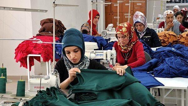 tekstil - kadın - işçi - fabrika - Sputnik Türkiye