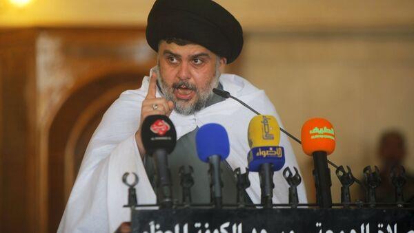 Iraklı Şii din adamı Mukteda es-Sadr - Sputnik Türkiye