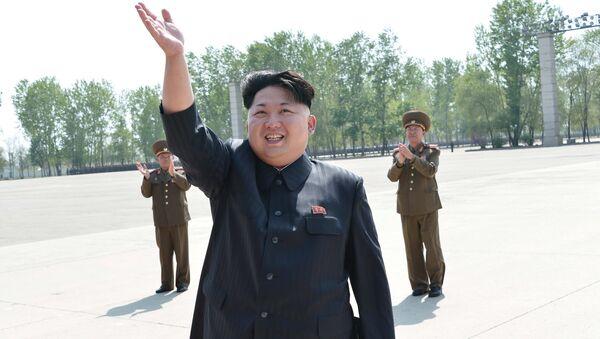 Kuzey Kore lideri Kim Jong Un - Sputnik Türkiye