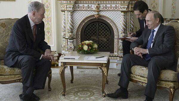 Vladimir Putin & Jean Chretien - Sputnik Türkiye