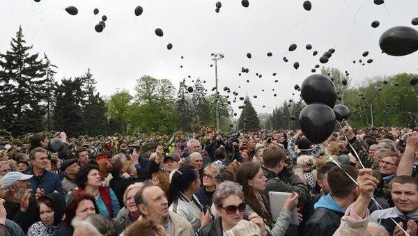 Odessa katliamı anma yürüyüşü - Sputnik Türkiye