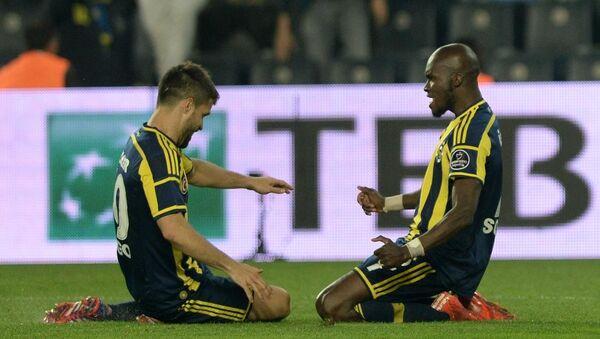 Fenerbahçeli Sow ve Diego Ribas - Sputnik Türkiye