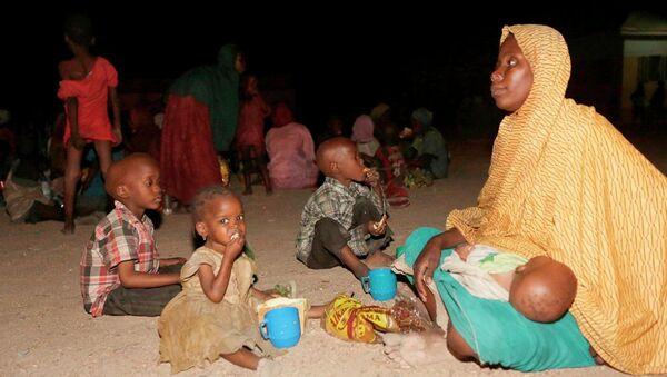 Nijerya'da ordunun Boko Haram örgütünün kalesi Sambisa ormanından kurtardığı 687 kadın ve kız çocuğundan 214'ünün hamile olduğu belirtildi.  - Sputnik Türkiye