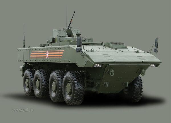 Bumerang zırhlı aracı - Sputnik Türkiye