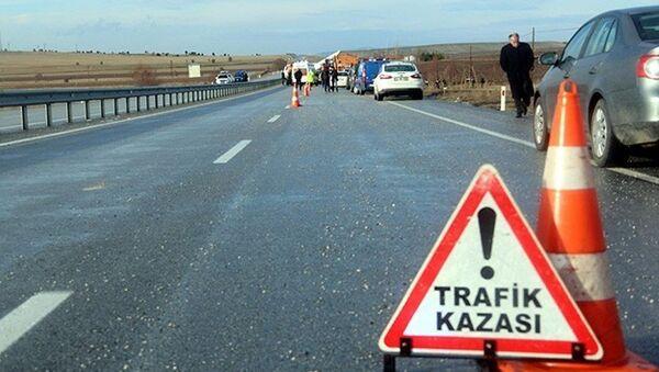 İstanbul trafik kazası - Sputnik Türkiye