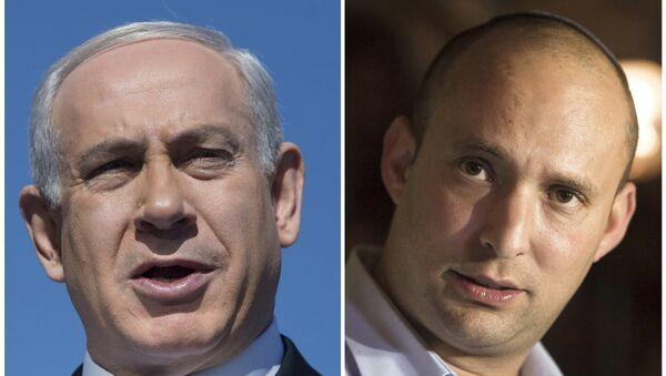 Benyamin Netanyahu - Naftali Bennett  - Sputnik Türkiye