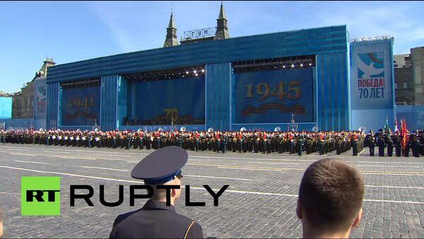 Rusya Zafer Günü'nün 70. yıl dönümünü - Sputnik Türkiye