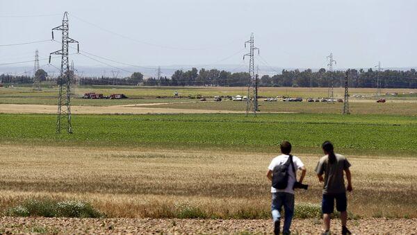 İspanya-Uçak kazası - Sputnik Türkiye