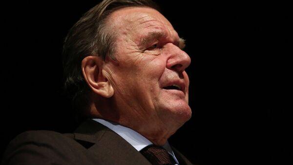 Gerhard Schröder - Sputnik Türkiye