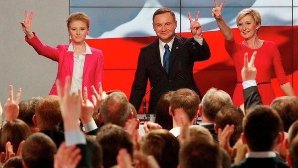 Polonya cumhurbaşkanı adayı Andrzej Duda - Sputnik Türkiye