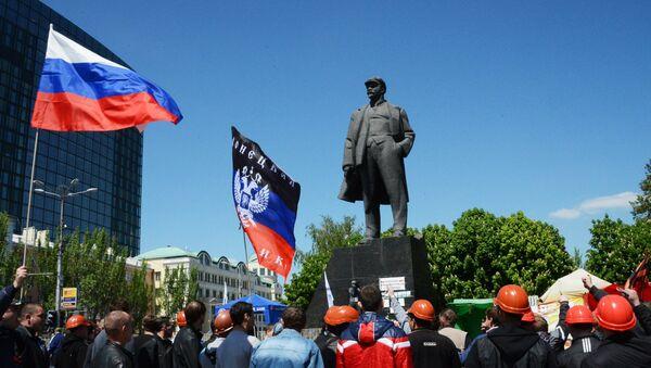 Donetsk ve Lugansk'taki bağımsızlık referandumu 1. yılında - Sputnik Türkiye