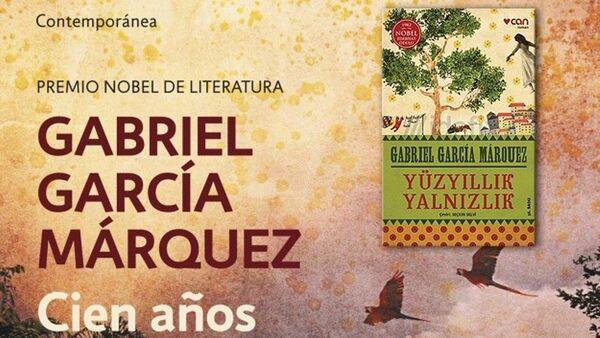 Gabriel Garcia Marquez'in Yüzyıllık Yalnızlık adlı romanı - Sputnik Türkiye