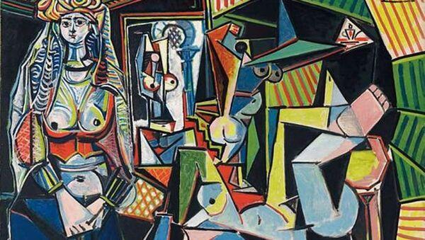 Pablo Picasso'nun 'Les femmes d'Alger, Version O' (Cezayirli Kadınlar, Versiyon O) adlı tablosu - Sputnik Türkiye