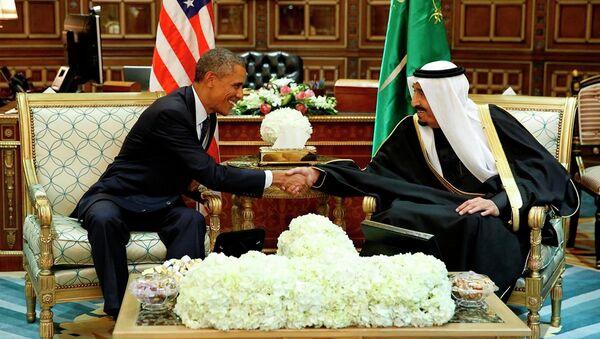 ABD Başkanı Barack Obama- Suudi Arabistan Kralı Selman bin Abdülaziz El Suud - Sputnik Türkiye