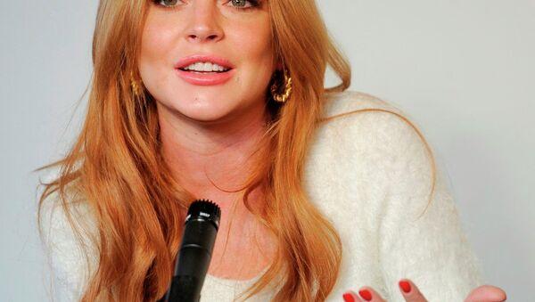 Lindsay Lohan - Sputnik Türkiye