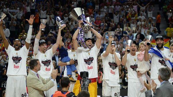 Real Madrid Basketbol Takımı - Sputnik Türkiye