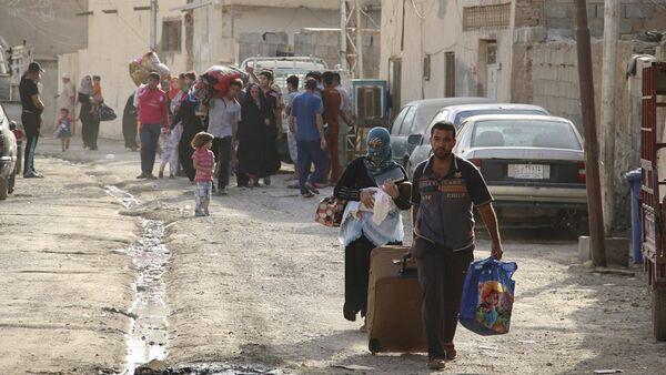 Irak Ramadi göç - Sputnik Türkiye